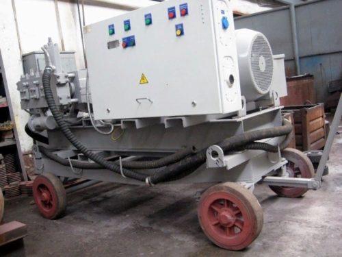 Установка для промывки трубопроводов и технологического оборудования