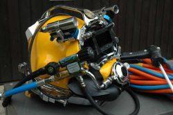 Шлем подводного сварщика