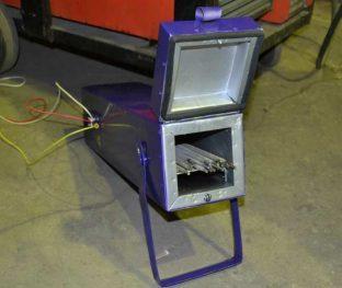 Пенал для прокалки электродов